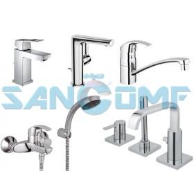 Смесители для ванной однорычажные: типы и конструктивные особенности