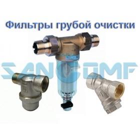 Фильтр грубой очистки воды и его подключение