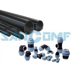 Труба полиэтиленовая водопроводная: особенности применения